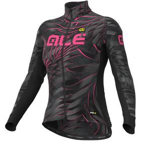 Alé Cycling Graphics PRR Sunset Maillot À Manches Longues Femme, black-fluo pink